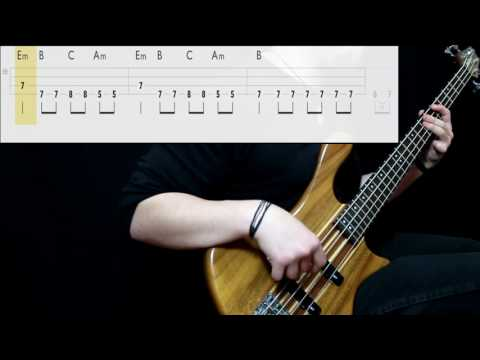 Sublime - Date Rape (Bass Only) (Play Along Tabs In Video)