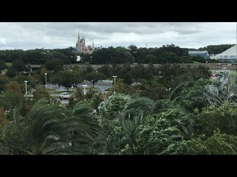 HURRICANE MATTHEW AT WALT DISNEY WORLD | Oct. 6-7, 2016