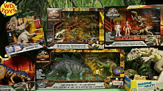 New Jurassic World Camp Cretaceous Dinosaur Toys 6 sets  Mattel Toys #withme #stayhome WD Toys