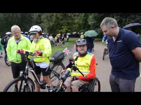 Hand Crank Rider: Dominic Coleman