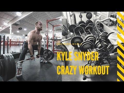Kyle Snyder crazy workout highlights | Training World