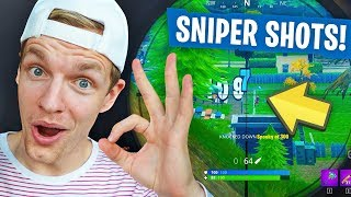 SNIPER SHOTS ON POINT!! - Fortnite #38