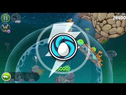 Angry Birds Space HD Pig Dipper All levels