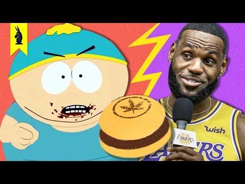 South Park Vs. LeBron James And Fake Meat – Wisecrack Quick Take (Season 23 Episode 4)
