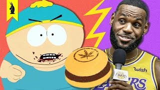 South Park vs. LeBron James and Fake Meat - Wisecrack Quick Take (Season 23 Episode 4)