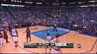 LeBron James FLOPS In Game 4 2011 NBA Finals
