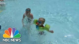 What Precautions Public Pools, Water Parks Are Taking Amid Coronavirus Crisis | NBC Nightly News