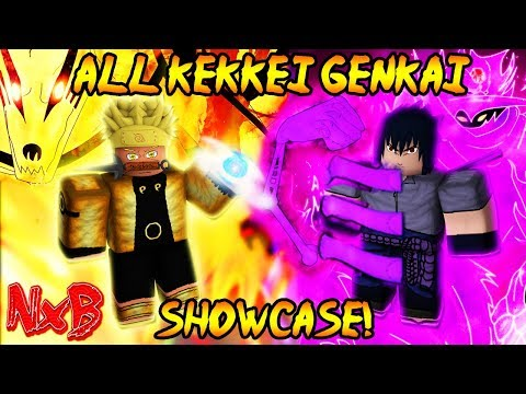 ULTIMATE ALL KEKKEI GENKAI SHOWCASE!  (WHICH IS THE BEST?!) | Naruto RPG: Beyond [Beta 99]
