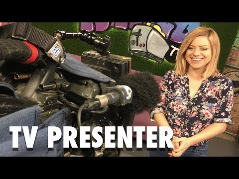DAY THE IN LIFE OF A TV PRESENTER