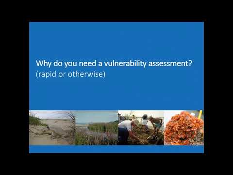 Rapid Vulnerability Assessment Tool for MPA Managers