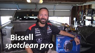Un-boxing the Bissell Spotclean PRO w/Paul Henderson  5/1/19