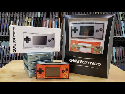 Game Boy Micro - Unboxing And Review