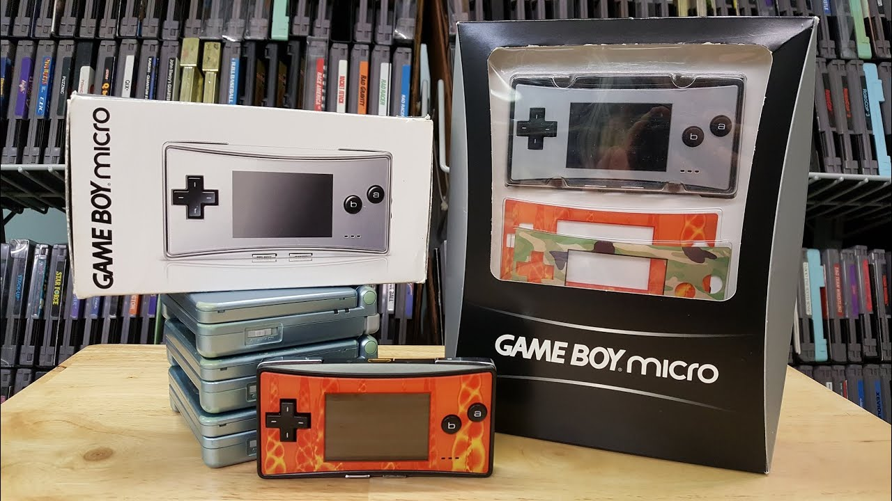 Game Boy Micro – Unboxing and Review
