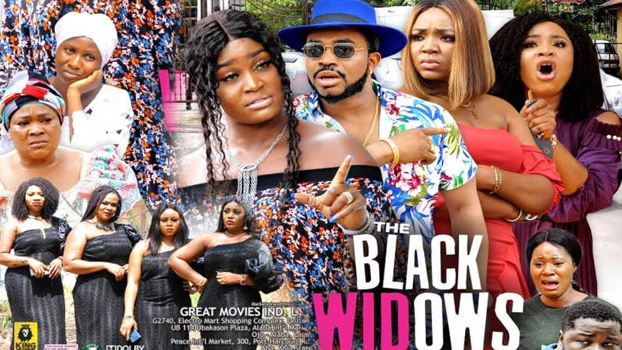 Download THE BLACK WIDOW  SEASON 7 {NEW TRENDING MOVIE} - CHIZZY ALICHI|SONIA UCHE|EKENE UMENWA|2021 Movie