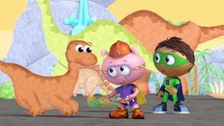 Super Why 208 - Super WHY and Baby Dino's Big Discovery | Videos For Kids