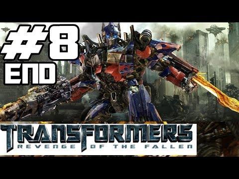 Transformers: Revenge of the Fallen Walkthrough Part 8 - Battle w/ The Fallen [ENDING]