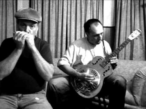 Blues Harp & Bottleneck Slide Guitar Duet # 3 Bukka White Poor Boy