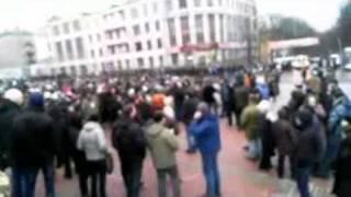 Пикет против сфальсифицированных выборов в Брянске