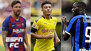 "After barcelona were drawn in the so called ""group of death"" with inter milan, borussia dortmund and slavia prague uefa champions league, espn fc's si..."
