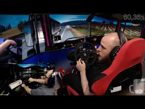 Euro Truck Simulator 2 with dad episode 44