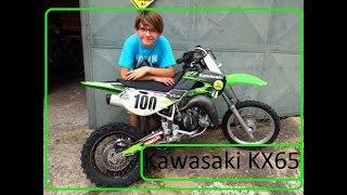 Mini Moto Kawasaki KX 65cc 2t 2009 - Test Drive
