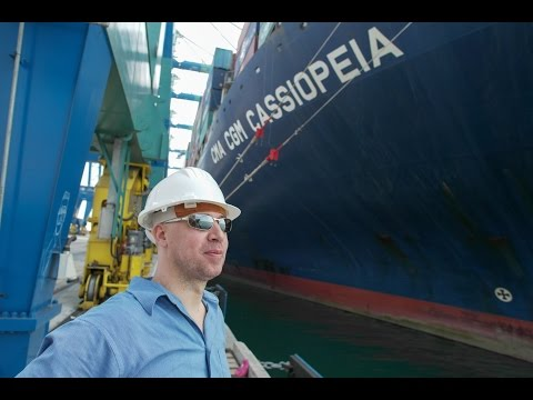 CMA CGM Cassiopeia - Passenger Travel by Container Ship