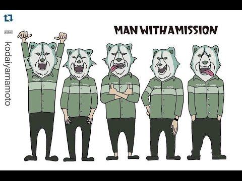 Man With A Mission メンバーの可愛らしいイラスト集 Youtube