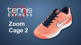 Nike Womens Zoom Cage 2 Shoe Review | Tennis Express