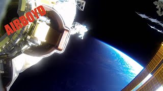 Terry Virts Spacewalk GoPro (EVA 30)