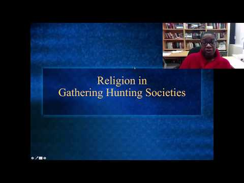 Religion In Gathering And Hunting Societies