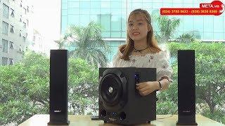 Trải nghiệm âm thanh loa máy tính Soundmax AW300 kết nối bluetooth