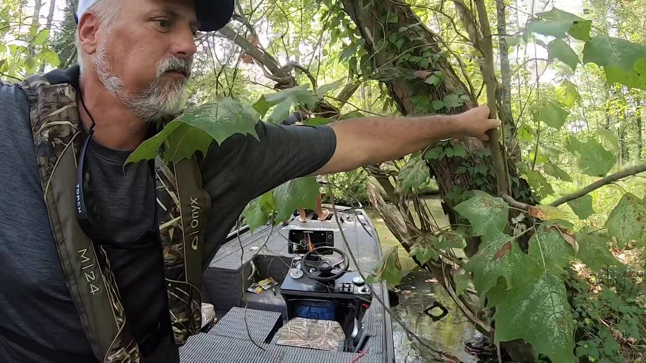 Off The Grid - Cutting thru lily pads