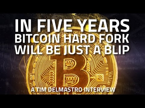 In Five Years the Bitcoin Hard Fork will be Just a Blip – Timothy Delmastro Interview