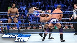 Kingston vs. Ryder vs. Rusev vs. Mahal - Fatal 4-Way Match: SmackDown LIVE, Jan. 30, 2018