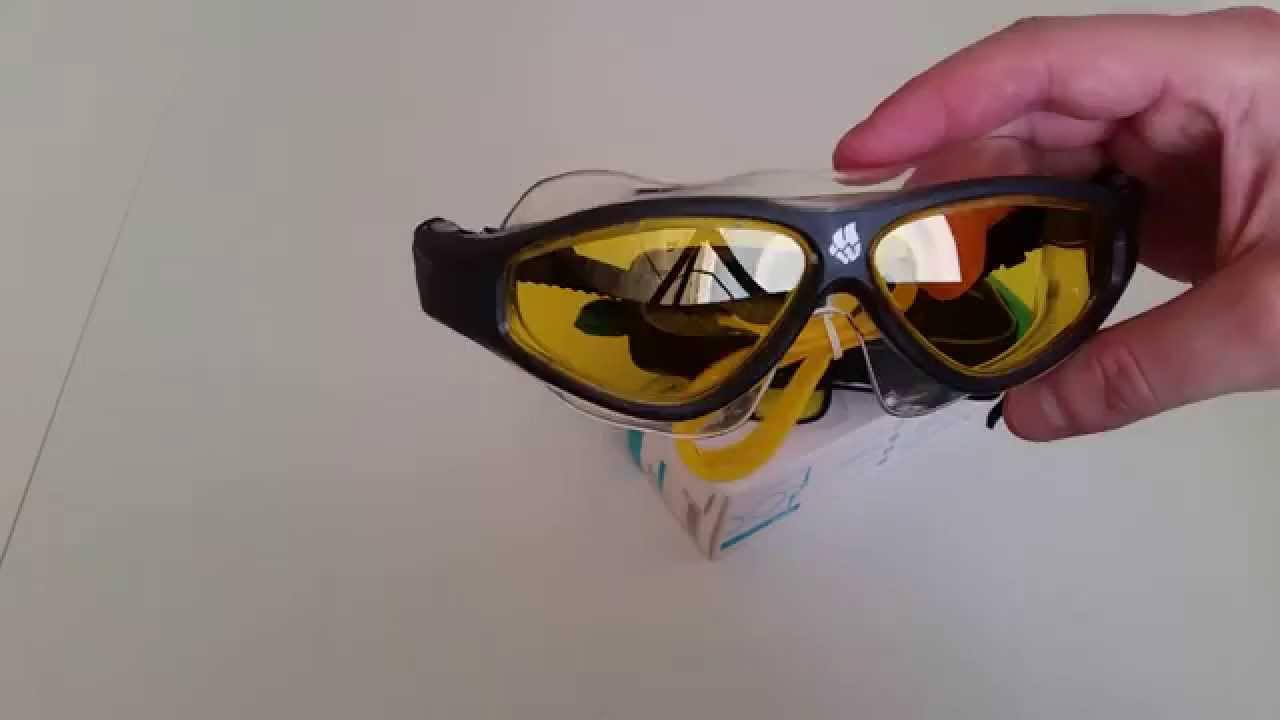 Обзор на очки для плавания Joss - YouTube