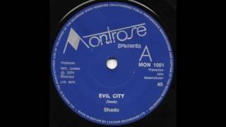 Shado - Evil City - 1975 Proto Metal