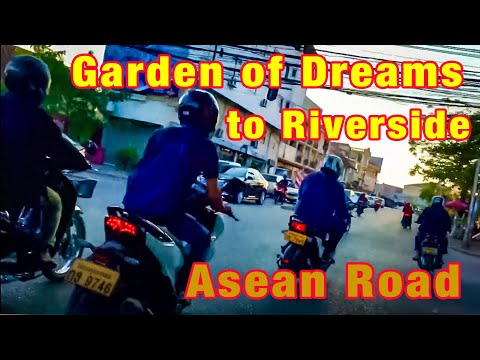 From The Garden of Dreams to the Riverside - Vientiane, Laos