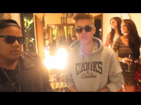 Justin Bieber Behind The Scenes of  ''Wake Up In It''