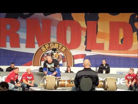 Arnold Strongman Classic Austrian Oak 2016