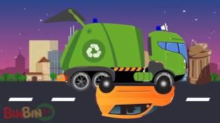 Хороший против Evil Школьный автобус Война Scary Street Автомобили Видео для детей RUSI TV