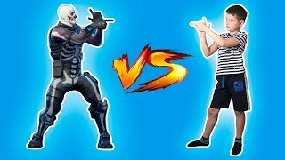 Fortnite dances in real life | Challenge Fornite heroes vs Platon by MurzilkaTV