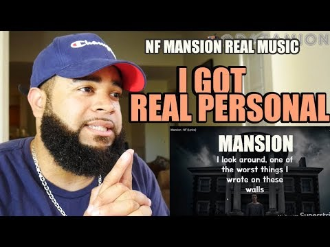 {{ REACTION }} Mansion - NF (Lyrics) ( OFFICIAL AUDIO )