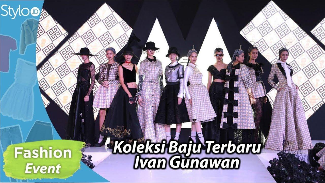 Baju Pesta Wanita Koleksi Ivan Gunawan Kolaborasi dengan Doraemon  Fashion  Show KUROBA MODO 10