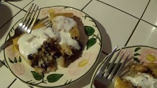 Mixed Berry Cobbler Using Dried Fruit & Jam - Vr To Willow's Garden