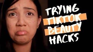 Appi: Trying TikTok Beauty/Makeup Hacks