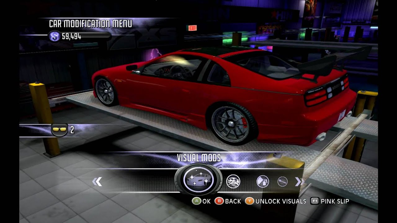 medium resolution of 300zx twin turbo wings west body kit juiced 2 hot imports night