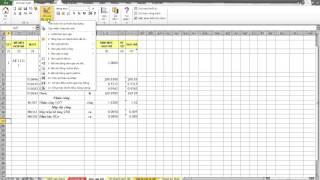 3. Lệnh Phân tích đơn giá chi tiết - Phần mềm Dự toán GXD