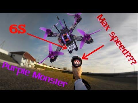 Фото Purple Monster замер максимальной скорости на 4-5-6S.Этот монстр съел мне мозГ !!!