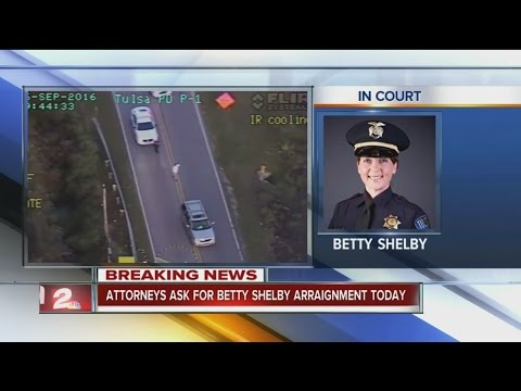 Attorneys ask for Betty Shelby's arraignment today