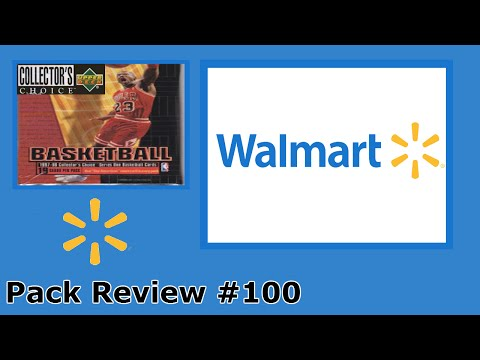 Pack Review #100: Walmart 1997-98 Upper Deck Collector Choice Basketball .98 Cents Blister Pack